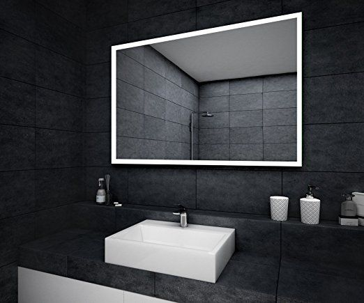 Design Bathroom Mirror With Led Illumination Bathroom Mirror Made