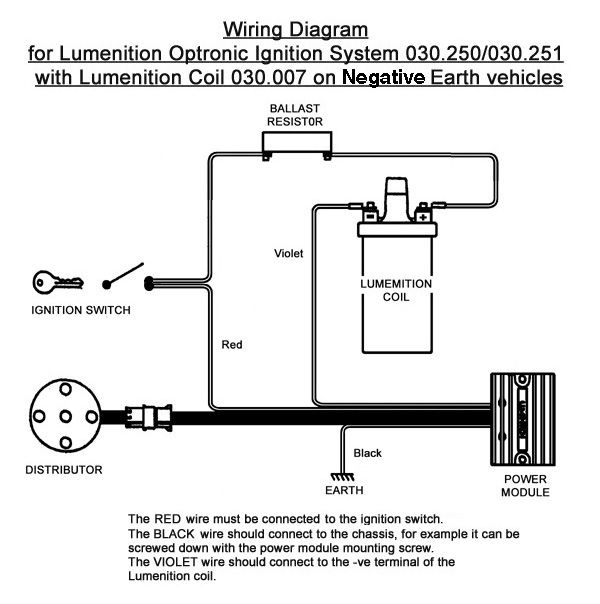 lumenition optronic ignition system for vintage classic cars kit rh pinterest com lumenition circuit diagram Simple Wiring Diagrams