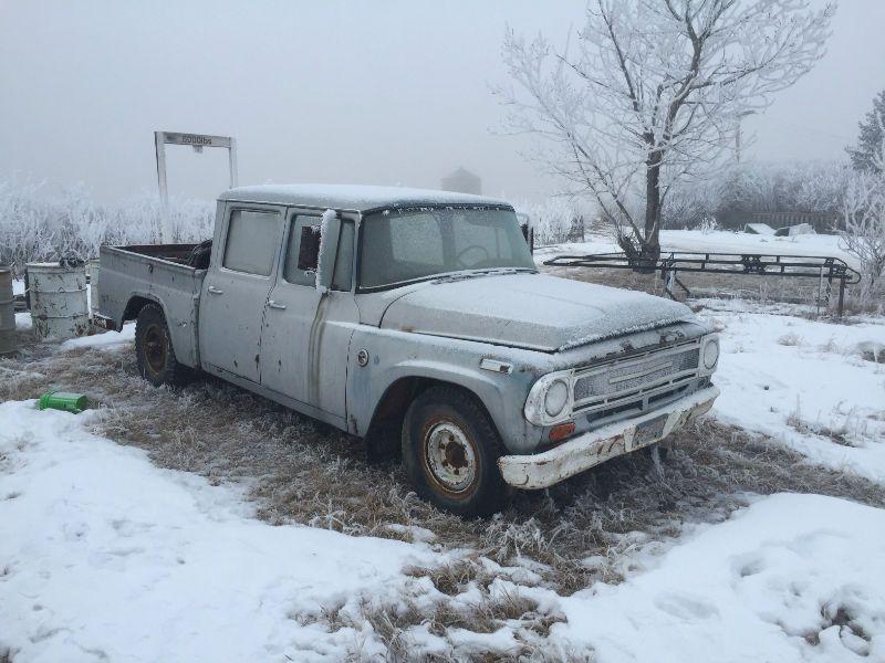 1966 International Crew Cab Complete Truck Very Rare Fix Up