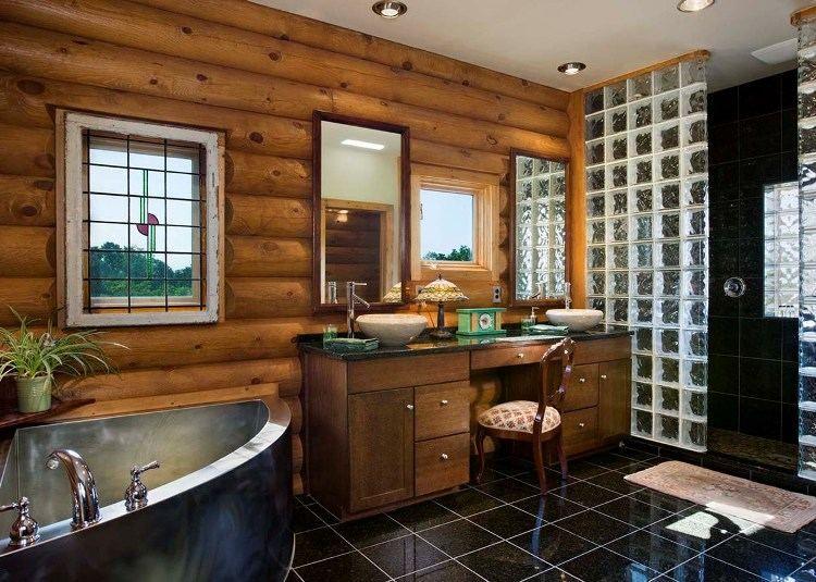 Salle de bain en bois en 30 idées inspirantes !