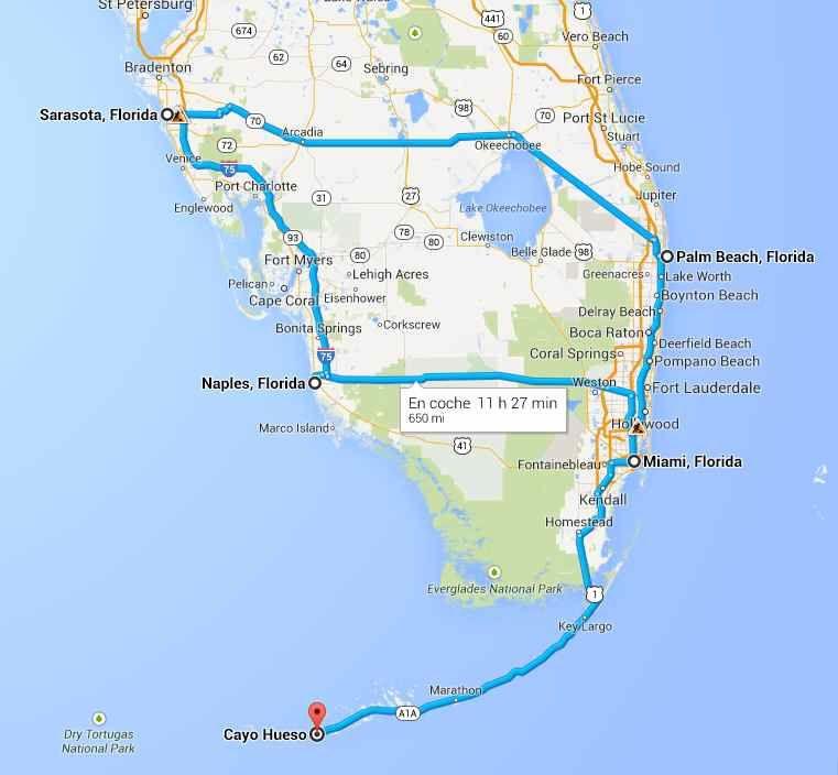 Qu ver en el Sur de Florida de Miami a Naples y Los Cayos en 7