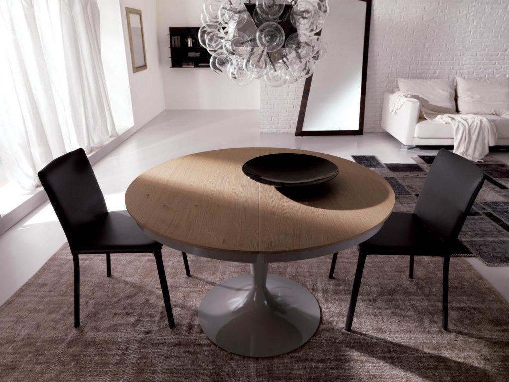 Ozzio Tisch Eclips Runder Esstisch Esstisch Stuhle Esstisch Rund Ausziehbar