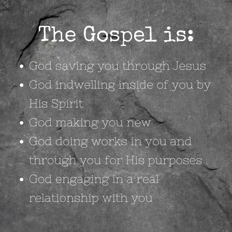 The Gospel is More Than Salvation | Gospel, New gods ...