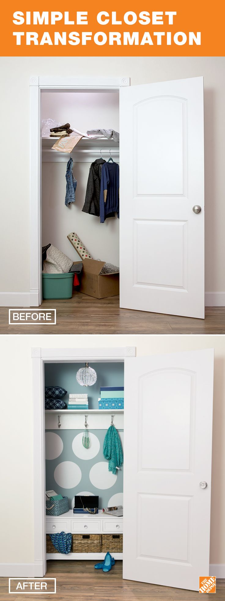 Use Behr paint to brighten up a