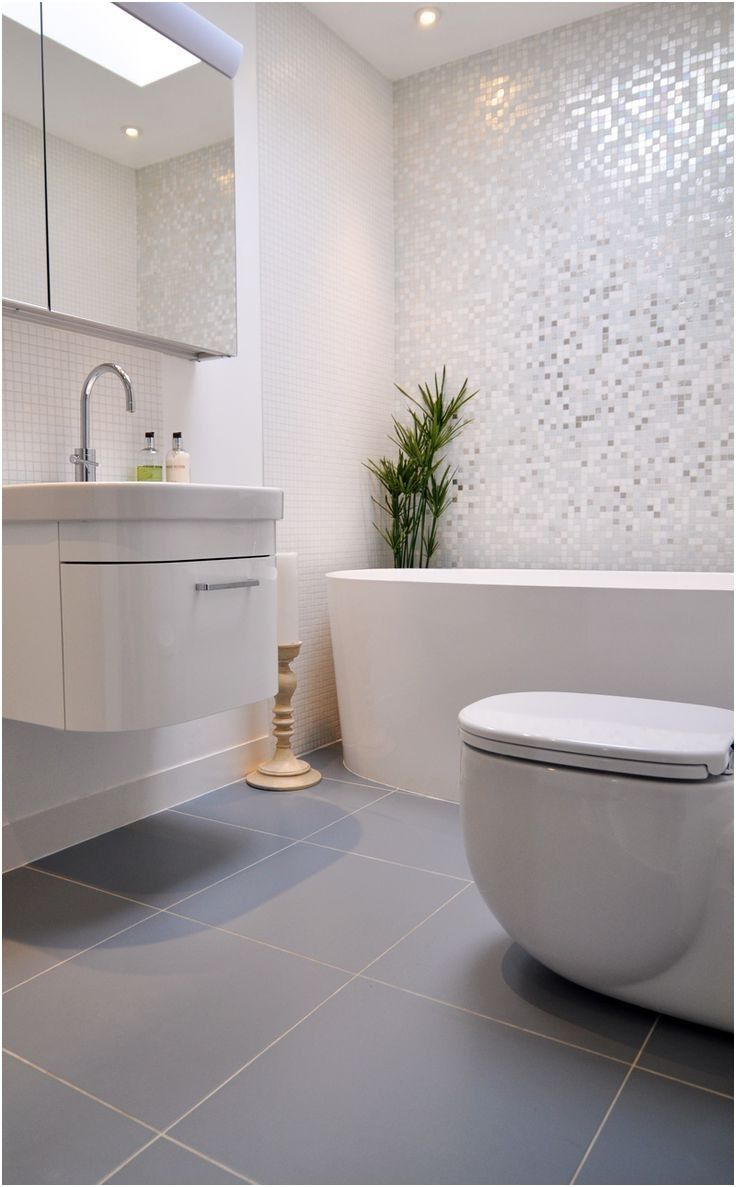 The 25 Best Grey White Bathrooms Ideas On Pinterest White From White Bathroom Grey Tiles Gray Tile Bathroom Floor Grey Bathroom Floor Light Grey Bathrooms