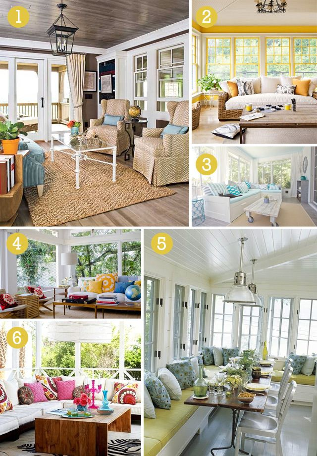 sunroom ideas on pinterest sunroom french country