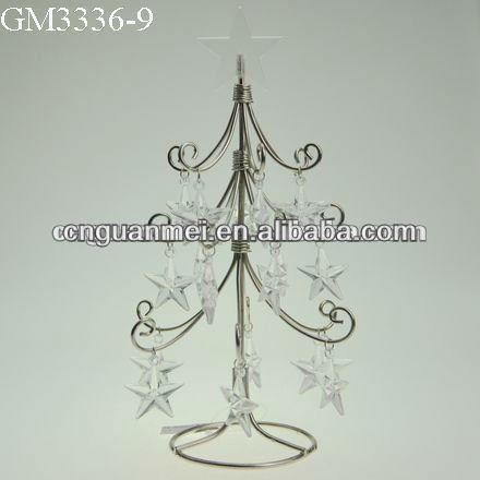 Hecho a mano al por mayor 3 de alambre de rbol de navidad - Arbol de navidad de alambre ...