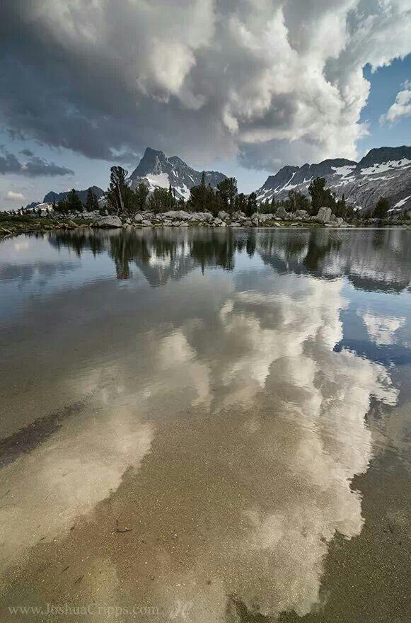 """""""Afloat"""" - Ansel Adams Wilderness, Eastern Sierras"""