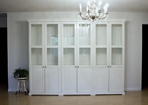 Ikea Bookcases For Built Ins Look Home Decor Ikea