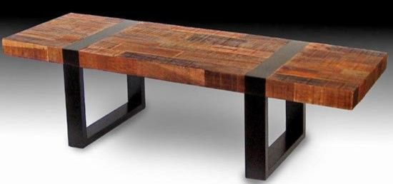 rustic table with bench urban rustic coffee table coffee tables