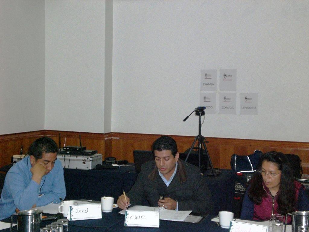 La participación fue continua por parte de los asistentes.