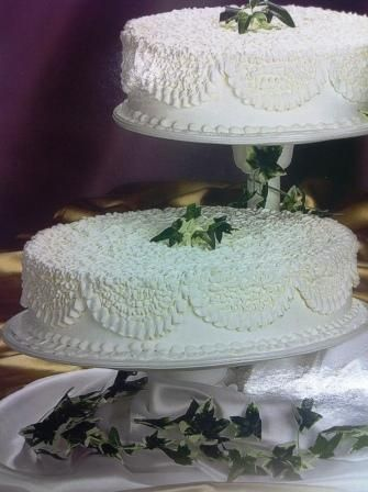 Wedding Cakes Done By Walmart