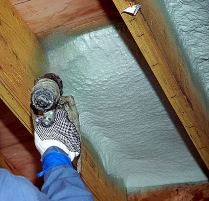 Insulation Basics What To Know About Spray Foam Roof Insulation Spray Foam Insulation Roof Insulation Materials