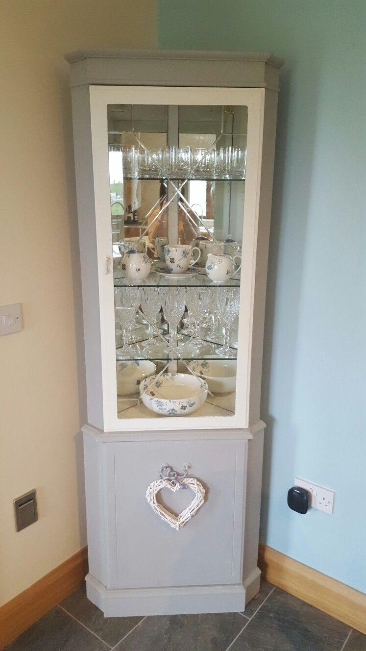 Upcycled Paris Grey kitchen cabinet | Arredamento