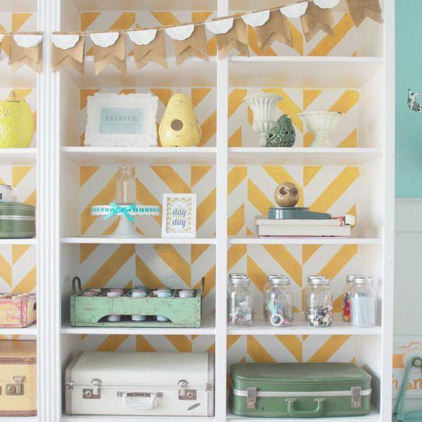 Muebles personalizados con papel pintado | Muebles con papel pintado ...