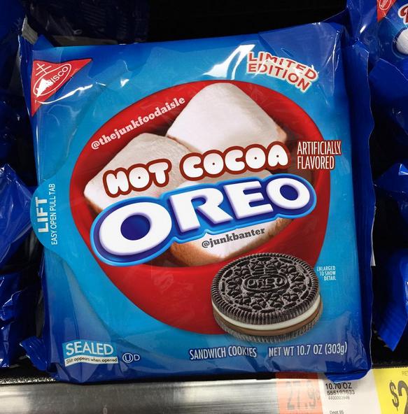 Hot Cocoa Oreo Oreo Flavors Weird Oreo Flavors Oreo