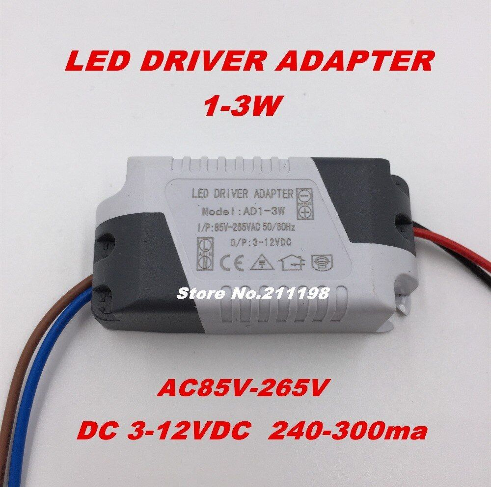 1 3w Dc3 12v Isolated Led Driver With Bulb Power Supply External Constant Current Lighting Transformers 1 3w Dc3 12v Isola Led Led Drivers Constant Current