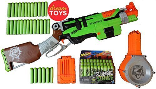 Explore Nerf Gun, Zombies and more!