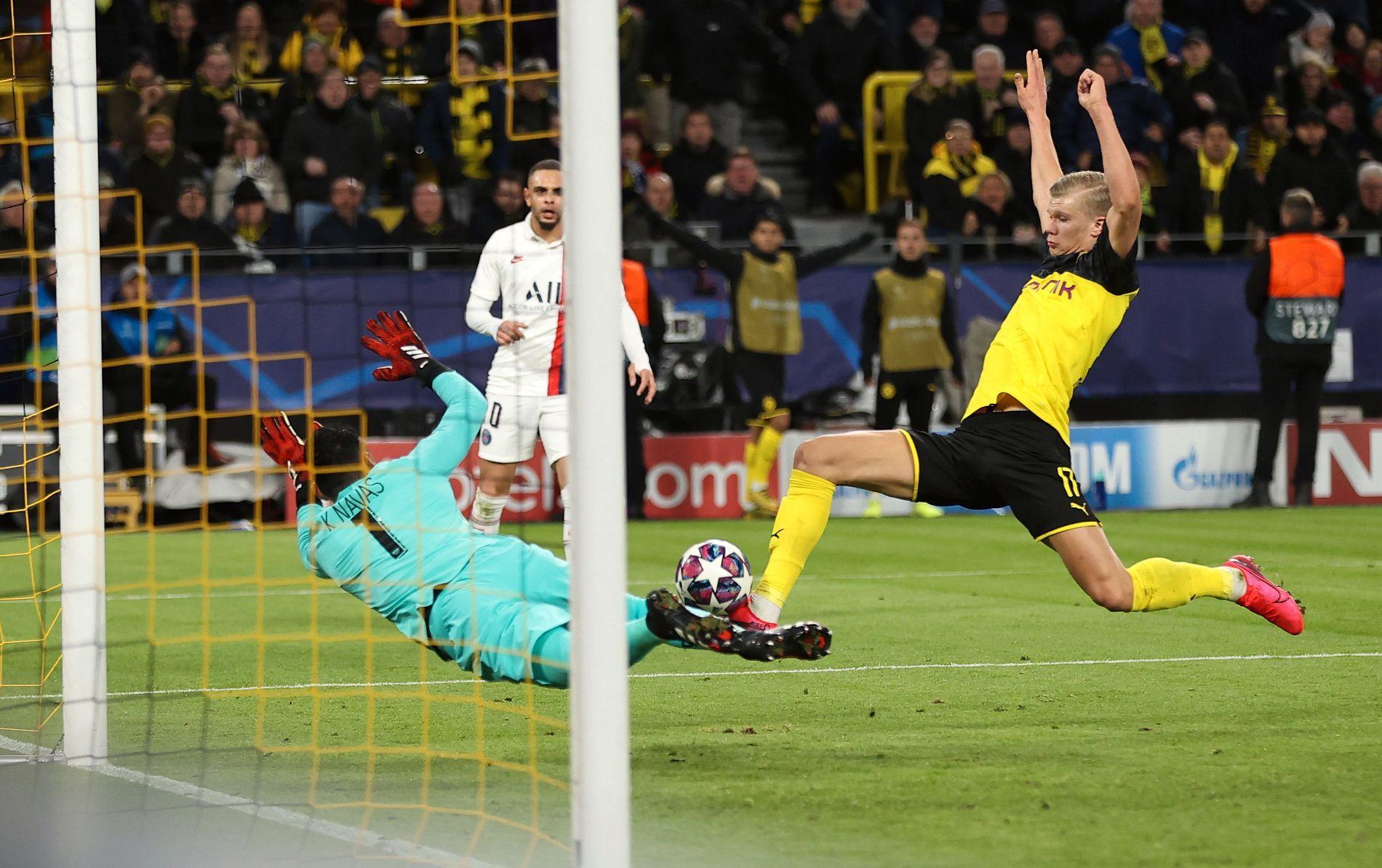 Haalandfesten fortsetter i Champions League to mål mot