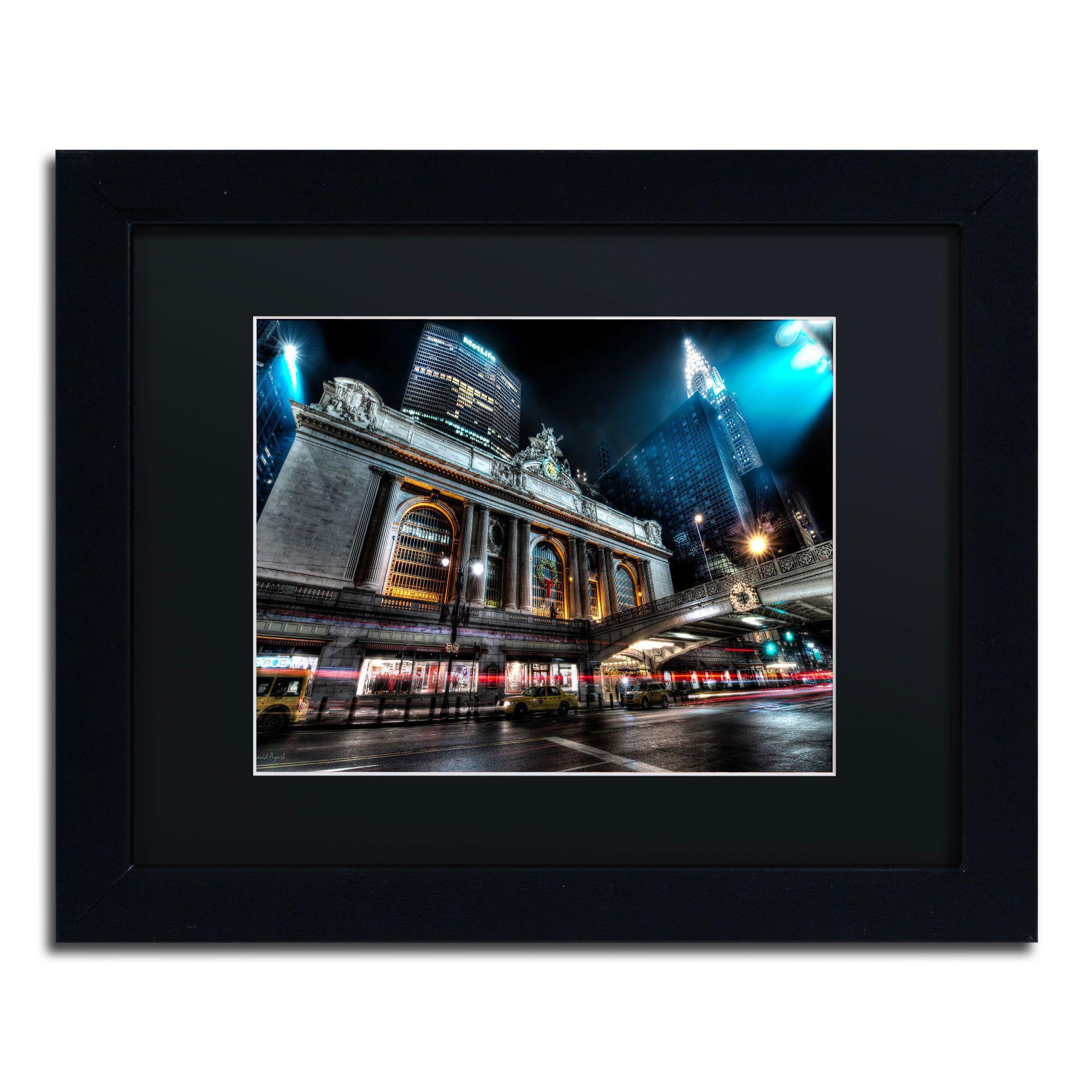 'Grand Central Terminal 42nd. Street - Manhattan' by David Ayash Framed Photographic Print