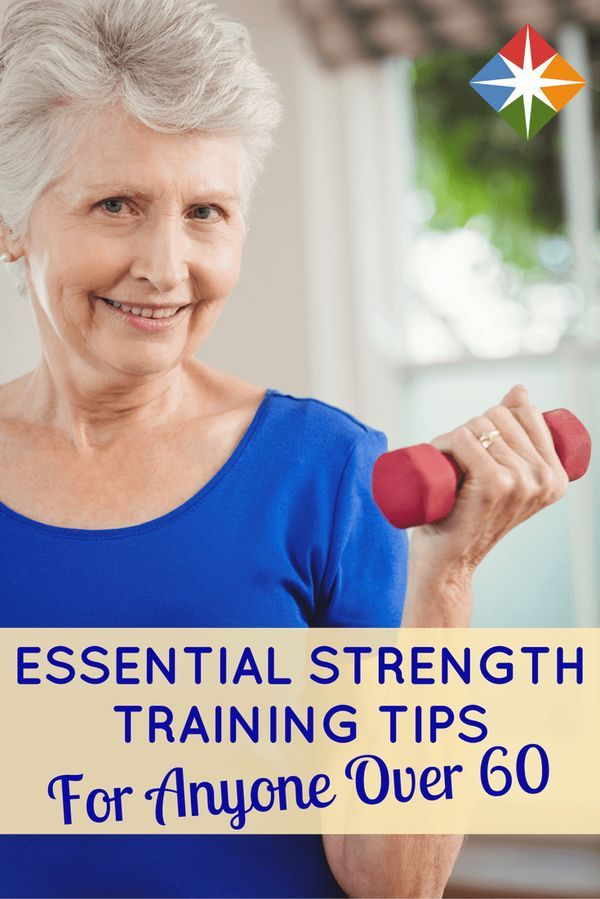 Start Strength Training After 60 With These Targeted Moves Motivation Strength Training
