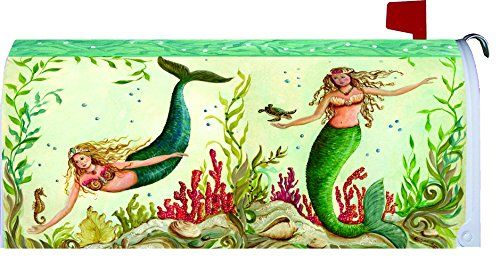 Mailbox Covers Mermaid Mailbox Makover Cover Vinyl With Magnetic