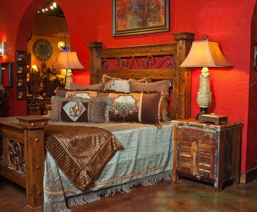 Rustic Bedroom Set Fort Worth Furniture Store Adobeinteriors Com Adobe Rustic Furniture Fort Worth Texas Rustic Bedroom Sets Rustic Bedroom Bedroom Set