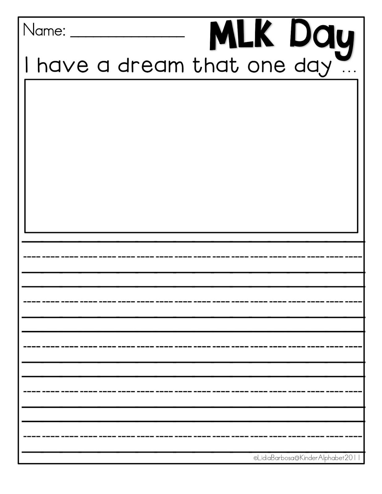 i have a dream too worksheet delibertad 10 images about mlk activities writing papers and i have a dream