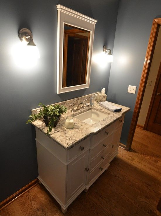 Pin By Sara Hill On New Home Bathroom Colors Bathroom Paint Colors Oak Bathroom Vanity