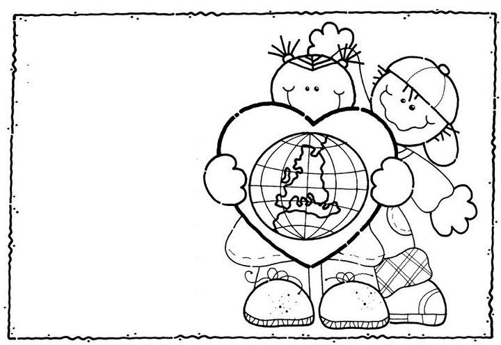 dia mundial de la salud para pintar e imprimir | Día MUNDIAL ...