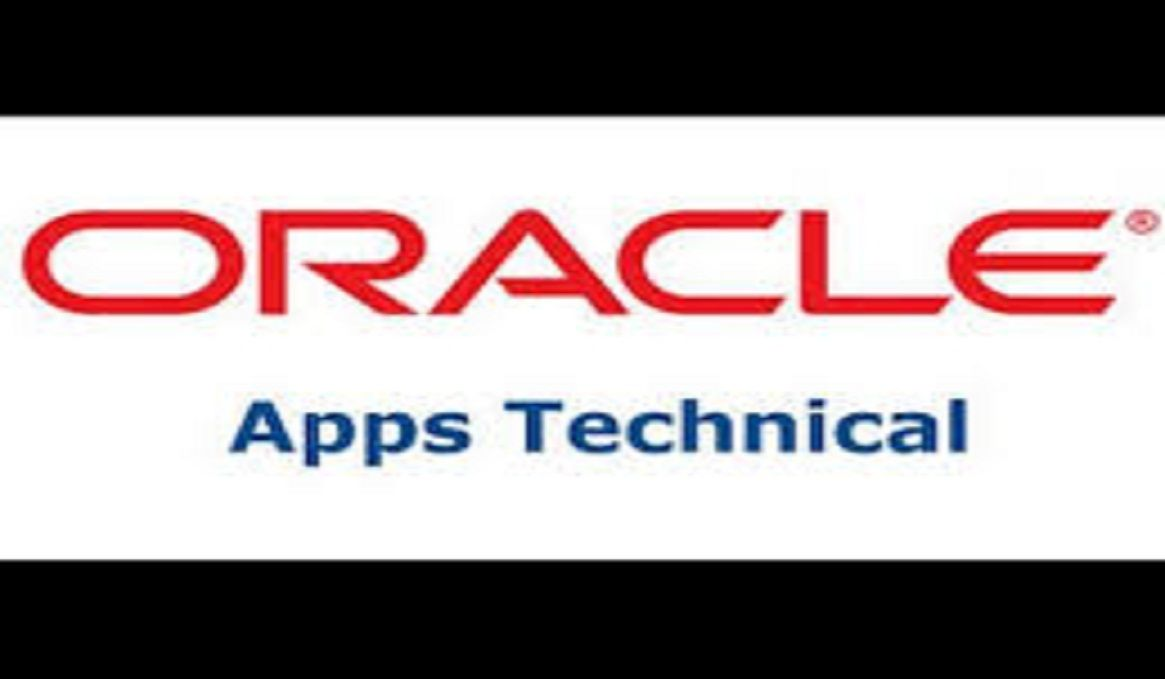 Oracle Apps Technical Online Training One To One Oracle Ebs Technical Online Training Online Training Courses Technical