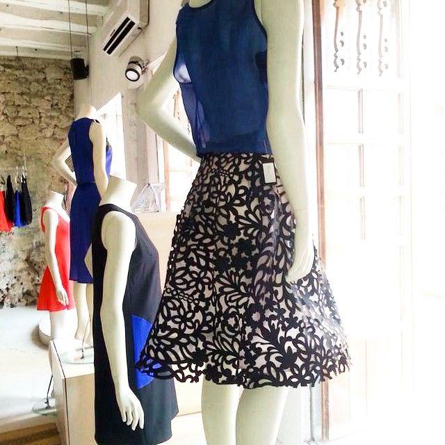 Ya puedes encontrar en mi boutique  de Cartagena la nueva Pre-Colection #FrancescaMiranda #Vitrinas #Cartagena