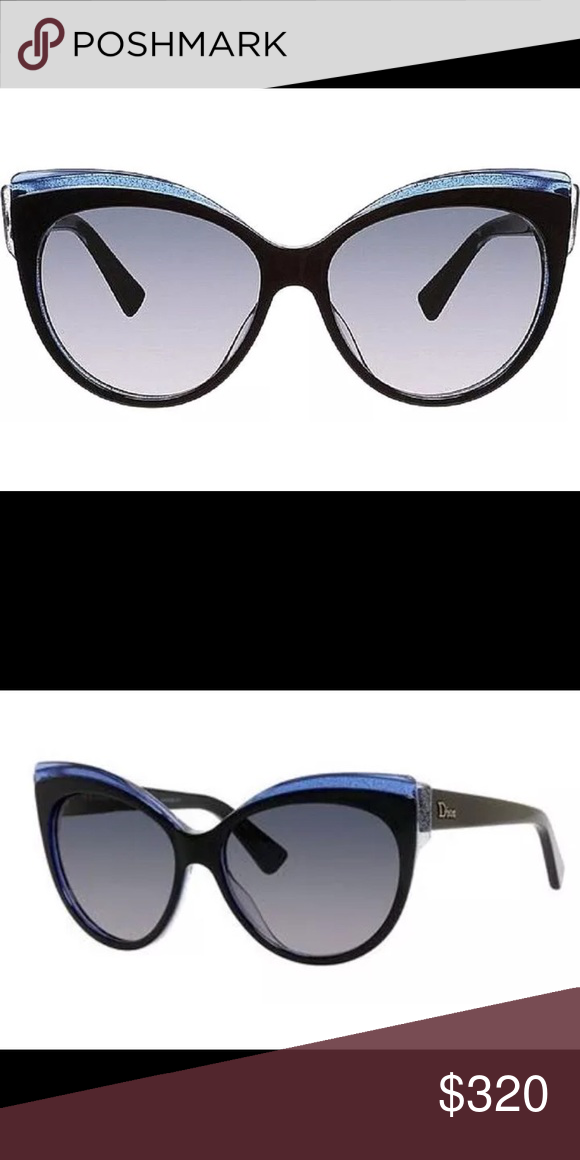 38bbc8d8da2c New CHRISTIAN DIOR SUNGLASSES GLISTEN1 NEW CHRISTIAN DIOR GLISTEN 1 E1X  (HD) BLACK