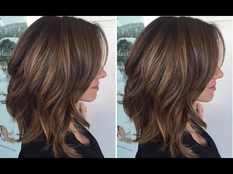 How To Cut A Long Layered Bob Haircut Tutorial Step By Step Nick