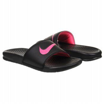5ed53983c545 Kids Nike   Benassi Slide Black Pink Flash FamousFootwear.com  21