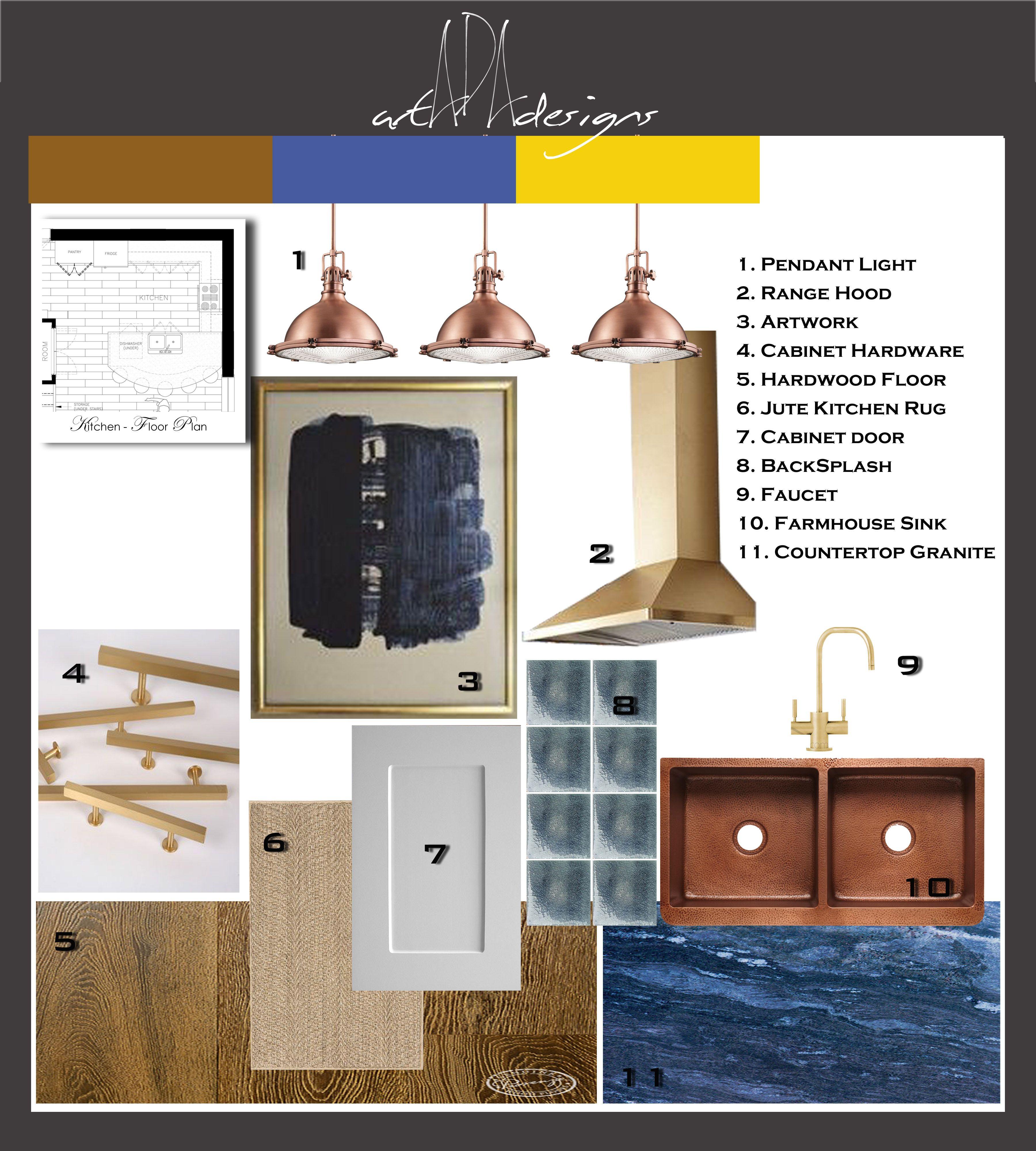 Assignment 9 Kitchen Mood Board Interior Design Mood Board