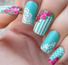 romantic lace nail designs