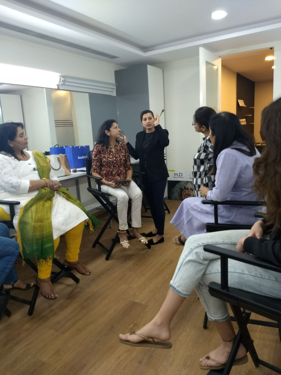 Makeup course at Mud Studio, Bandra, Mumbai