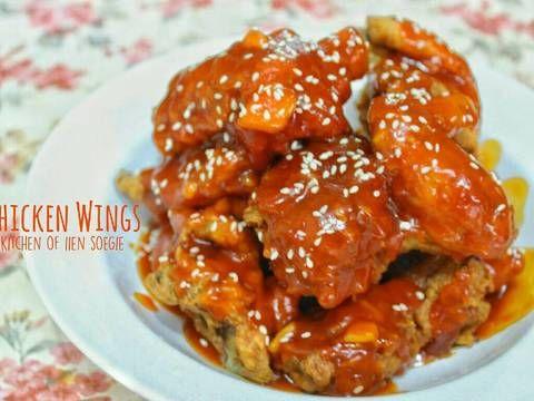 Resep Fire Chicken Wings A La Richeese Oleh Iien Soegie Resep Sayap Ayam Makan Malam Makanan Dan Minuman