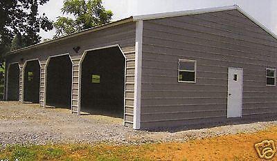 Details About 24x50 Metal Garage Storage Building Free