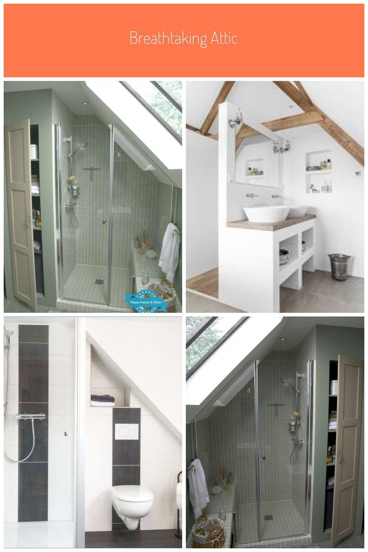 Bad Dach Dem Kleines Leroy Merlin Nat Kleines Badezimmer Dachgeschoss Kleines Bad Unter Dem Dach Leroy Merlin Via N In 2020 Small Bathroom Cabin Style Bathroom