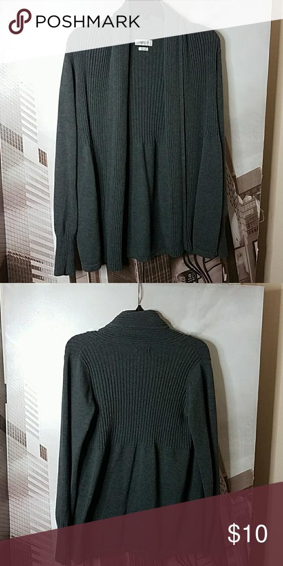 0d4f1063f0dfe7 Van Heusen cardigan Charo gray cardigan Van Heusen Sweaters Cardigans