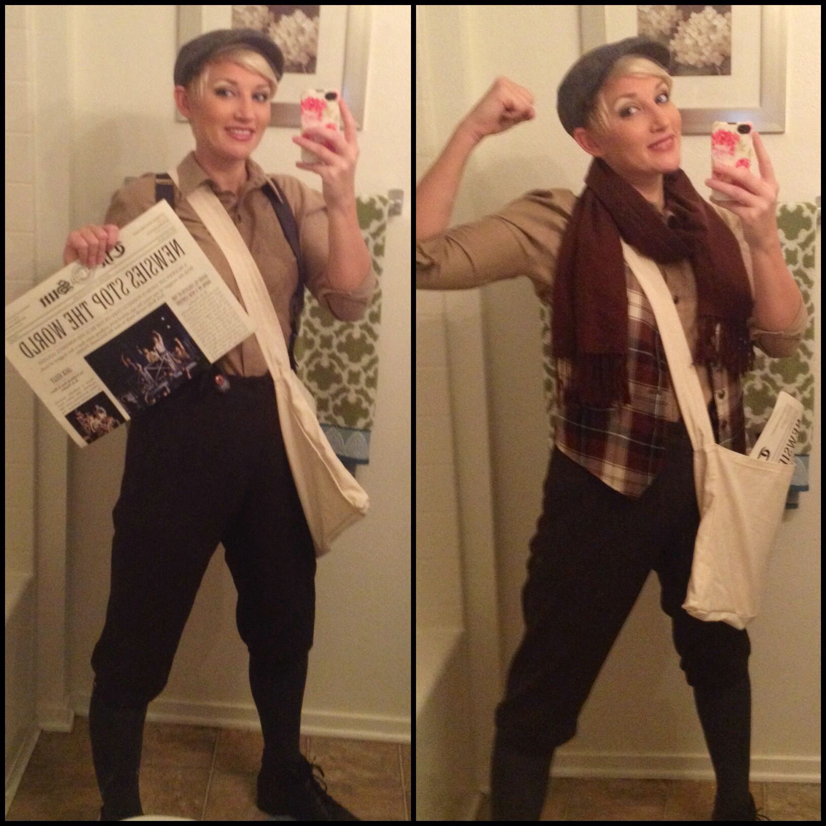 DIY Newspaper Boy Costume | DIY Costume Ideas | Pinterest ...