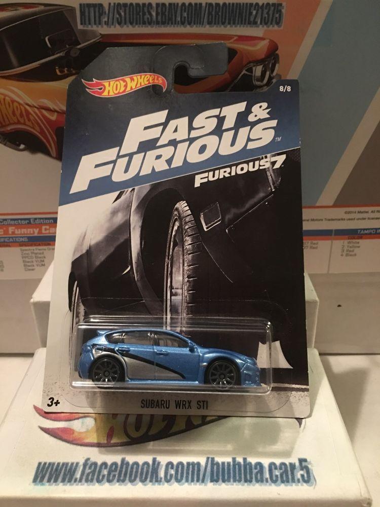 HotWheels Subaru WRX STi Fast And Furious 7 2017 US Brian/'s Paul Walkers Car