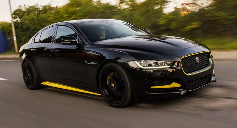 Arden Goes To Town On The Jaguar Xe Jaguar Xe Jaguar Car Jaguar