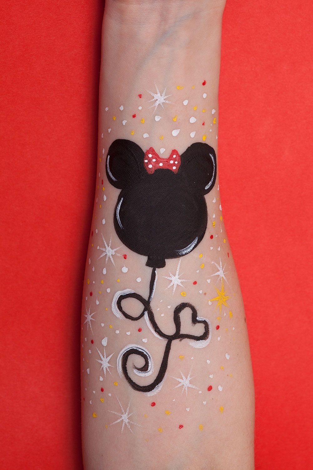 Simple Mouse Halloween Costume: Minnie Mouse Face Painting …
