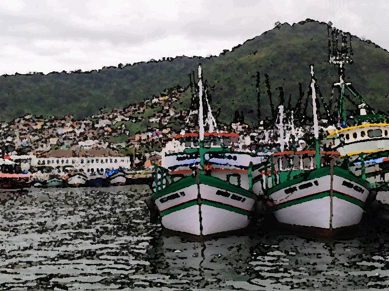 Porto de Angra dos Reis, RJ - Dezembro de 2013