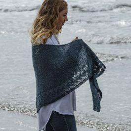 Irish Sea #irishsea Irish Sea shawl knitting pattern by Susanna Winter - From The Fibre Co. #irishsea
