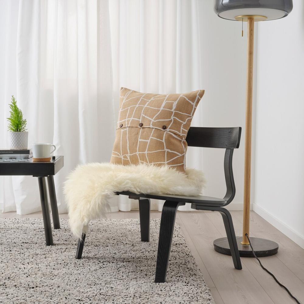 vÄrmer chair  black  ikea  blue chairs living room