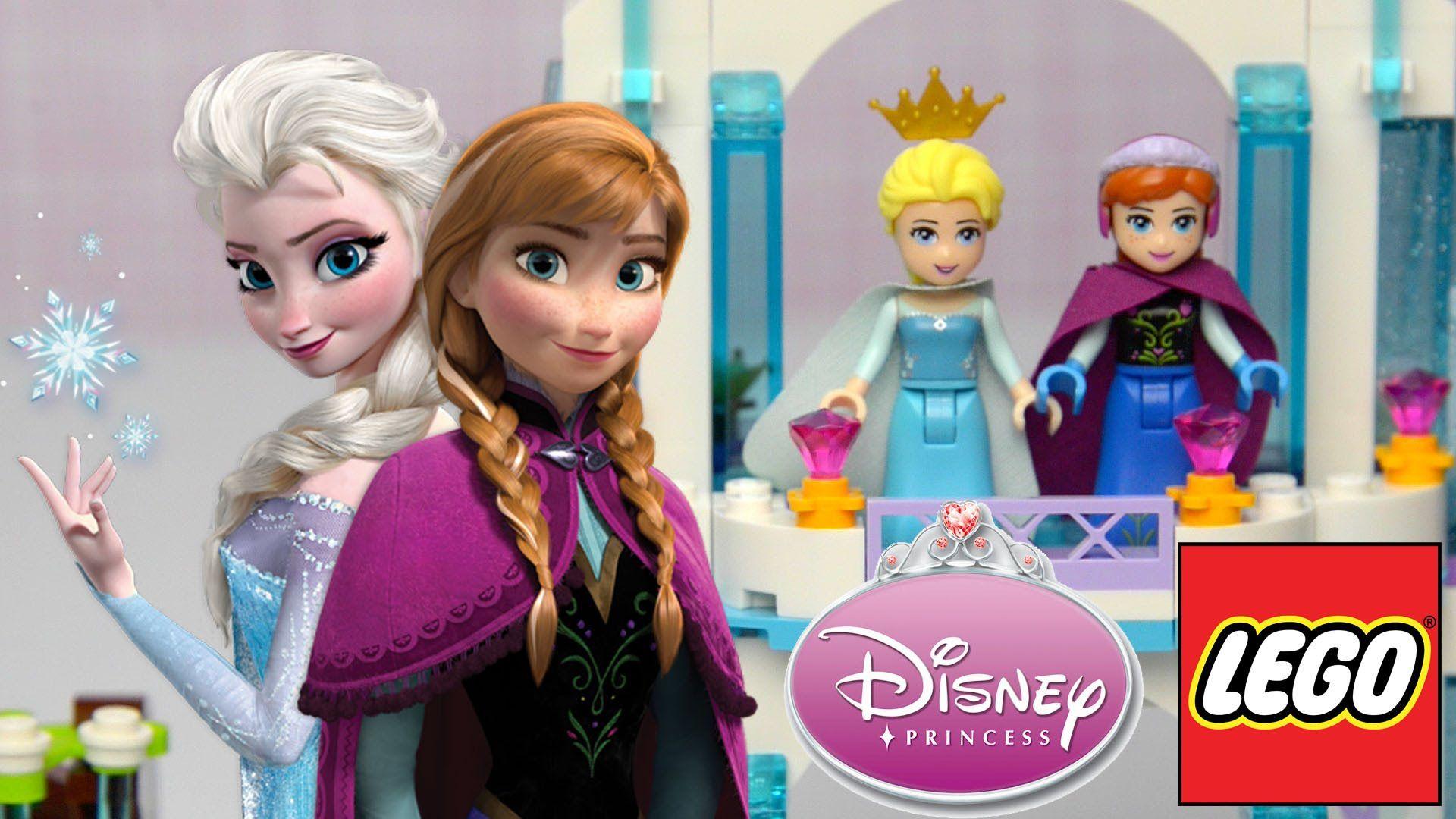 Frozen Lego Disney Princess Elsas Sparkling Ice Castle 41062 2015